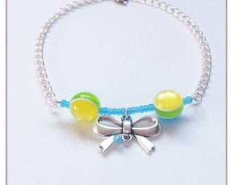 """Rainbow Collection"" blue bracelet"