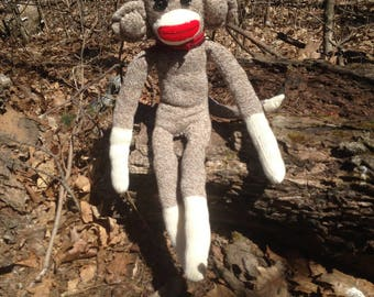 Red Sock Monkey