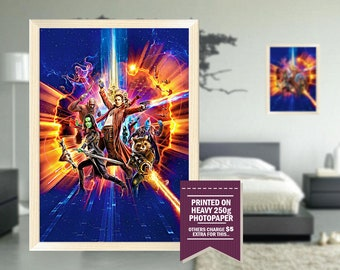 Guardians 2 poster, fan art, guardians 2 print, cool GIFTS, guardians of the galaxy, digital drawing, galaxy guardians, galaxy of guardians