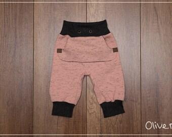 "Trousers ""Baby heart"" Gr. 50-68"