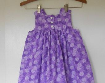 Little Girls Size 3T Purple Jumper Dress