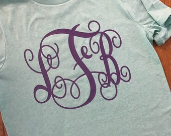 Personalized Monogram Tee