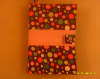 Brown Polka Dot Book Cover