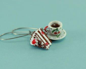 Coffee and Cake Earrings