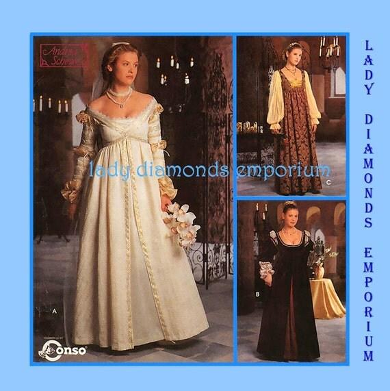 Rensaissance Empire Gowns