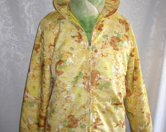 Swingin' Sixties Reversible Ski Jacket Size Small Vintage 60s