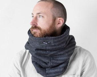 Winter scarf, mens scarf, wool scarf men, Snock®, mens winter scarf, scarf man