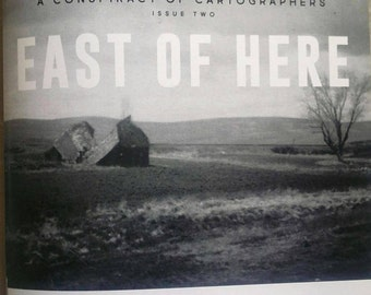 Conspiracy of Cartographers #2: East of Here - Film Photo Zine