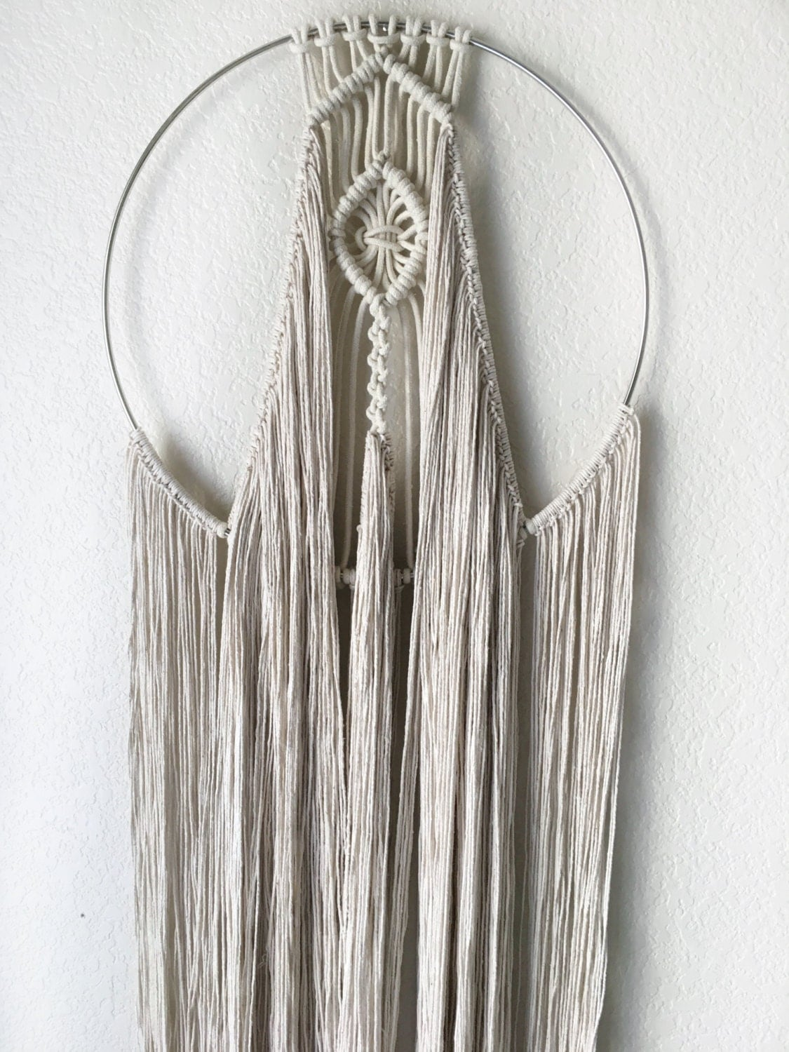 macrame catchers sale boho macrame catcher wall hanging circle yarn 4726