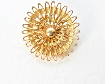 GORGEOUS Vintage Atomic Flower Brooch/Pin