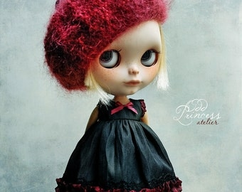 Blythe/Pullip Beret  DELICIOUS CHERRY, Vintage Romantic Collection By Odd Princess Atelier, Special Outfit