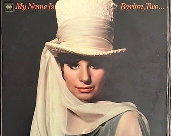 Barbra Streisand Record - My Name Is Barbra Two Record - Barbra Streisand Album - CS 9209