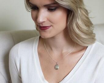 LOCKET Necklace // sterling silver locket // custom engraved locket // lockets // custom lockets //