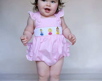 Smocked Princess Bubble