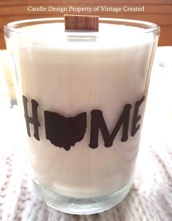 new home state candles 14 oz tumbler jarpersonalized state