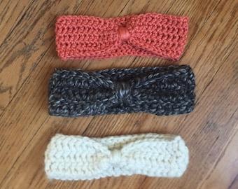 Crochet Headband, crochet ear warmer, baby ear warmer, crochet head wrap, adult ear warmer