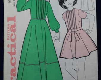 1960's Sewing Pattern for a Girl's Dress - Practical 6779