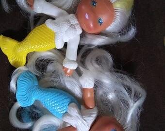 Vintage Kenner Sea Wees Mermaid Dolls