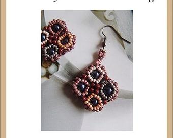Two Layers Lattice Earrings