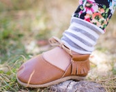 BROWN || mary jane moccasin