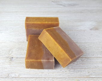 Aloe Soap - Vegan MANGO Handcrafted Soap - Handmade Cold Process Soap - Organic Aloe Soap