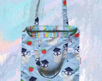 Library Bag Child - Owls
