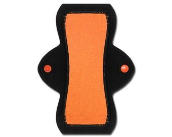 "Reusable Pantyliner (8"" Light - Orange Jersey)"