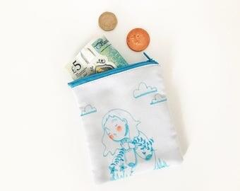 No clue coin purse