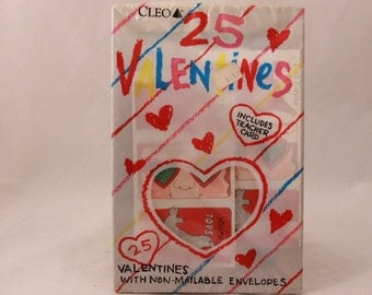 Vintage Gibson Valentine Cards and Envelopes. (25)