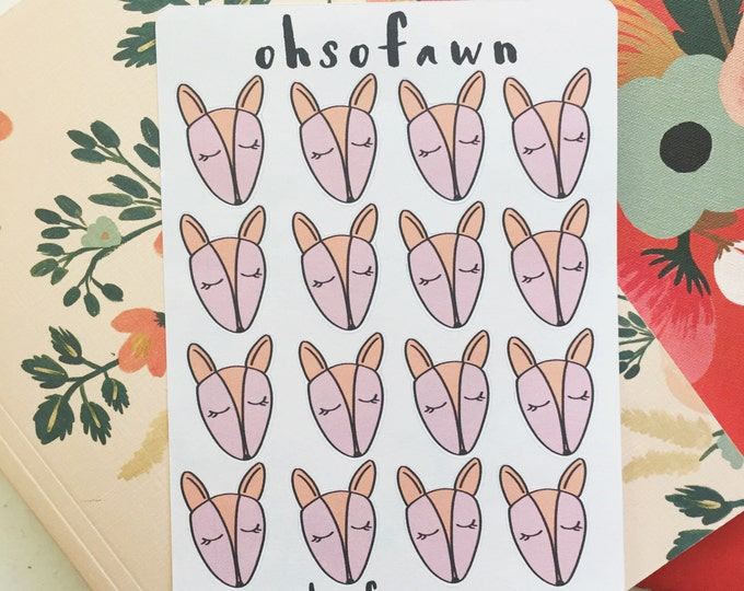 Little Fawn Hand Drawn Planner Stickers