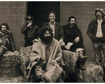 The Grateful Dead Band Portrait Poster