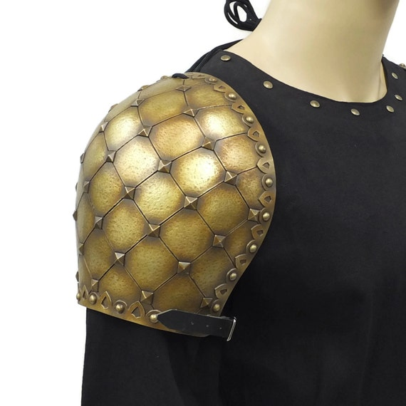 Larp Armour Magister Shoulders