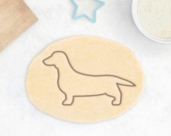Dachshund Cookie Cutter - Teckel Cookie Cutter Wiener Dog Cookies Dachshund Owner Gift Personalized Dachshund Gift Custom Dog Treat