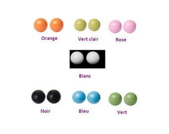 3 sound balls balls sound harmony ball creation of bolas 16mm, 7 colors to choose