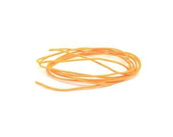 27 m wire elastic round Orange 1 mm