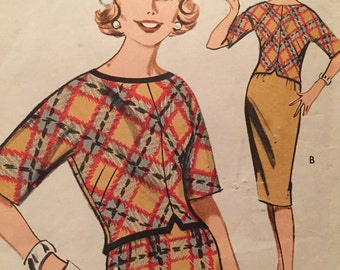 Cute Pattern for Quick 'N Easy Coordinates---Butterick 9436---Size 12 Bust 32
