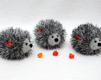 Hand Knit hedgehog with fruit Baby toy Cute toy Baby Soft toy gift for baby Miniature toys Pet toys Plush toy Gift for kids Stuff Kids Toys