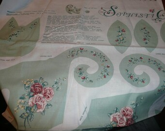 SophistiCats II Sewing Fabric Panel In Green