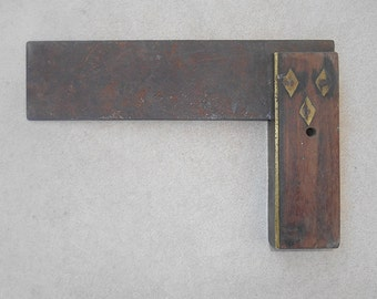 Vintage Woodworker's Square 7.5 inch