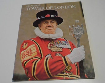 Pitkin Pictorials Ltd Her Majesty's Tower of London Guide Brochure 1976 Souvenir