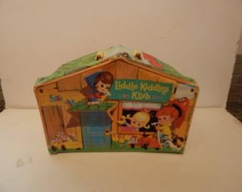 Vintage Liddle Kiddles Klub Doll House 3521 Mattel 1966
