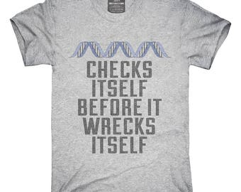 Check Yourself Before You Wreck Your Dna Genetics T-Shirt, Hoodie, Tank Top, Gifts