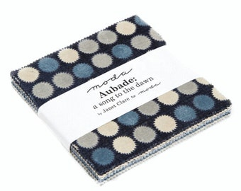 Special Offer - Aubade - A Song to the Dawn By Janet Clare for Moda: Charm Pack - UK Shop