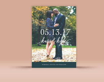 Save the Date No. 12 - Wedding Announcement