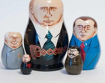 Nesting dolls Putin Russian President matryoshka doll - kod445p
