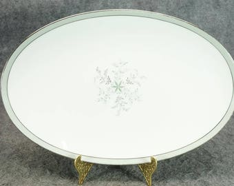 "Noritake China Lucille Pattern 14"" Oval Serving Platter C. 1960'S"