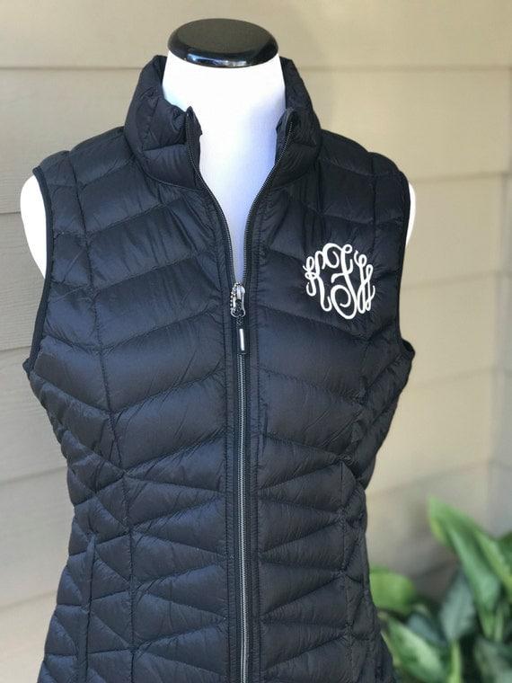 SALE - Monogrammed Puffy Vest