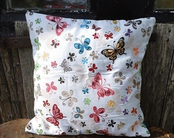 "Cushion cover ""Butterflies"""