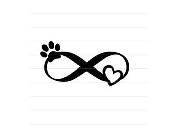 PET LOVE DECAL: Infinite Pet Love, Pet Memorial