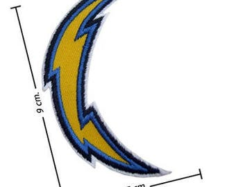 Los Angeles Chargers Logo Embroidered Iron On Patches